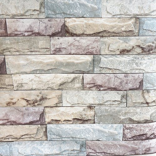 Timeet Brick Peel And Stick Wallpaper Self Adhesive 3d Stone Textured Contact Paper Roll Decor Film For R Peel And Stick Wallpaper Stone Texture Textured Decor