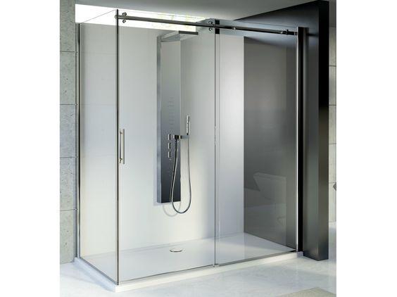 MAGNUM Box doccia con porte scorrevoli by Ideal Standard Italia