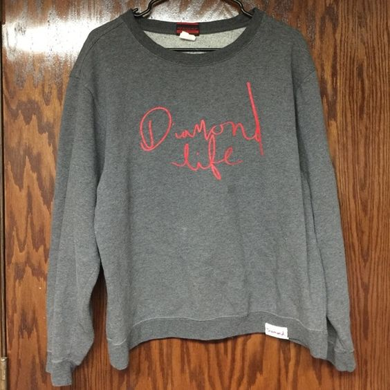 Diamond Supply Co. Crewneck Super comfy Diamond supply crewneck  PacSun Sweaters Crew & Scoop Necks
