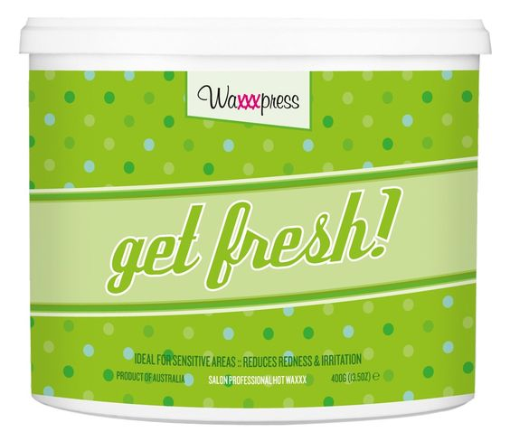 Feeling a little stale? It's time to freshen up! My invigorating sweet mint aroma is a breath of fresh air, perfect for putting that spring back in your salon. I contain Titanium Dioxide to reduce post-wax redness and irritation. Make your clients feel like new again with my gentle, creamy formula, ideal for getting sensitive and delicate areas shipshape!  Use me when you are waxing delicate areas. Best for waxing the face, underarms & XXX waxing.