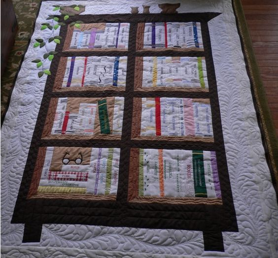 The Bookcase Quilt