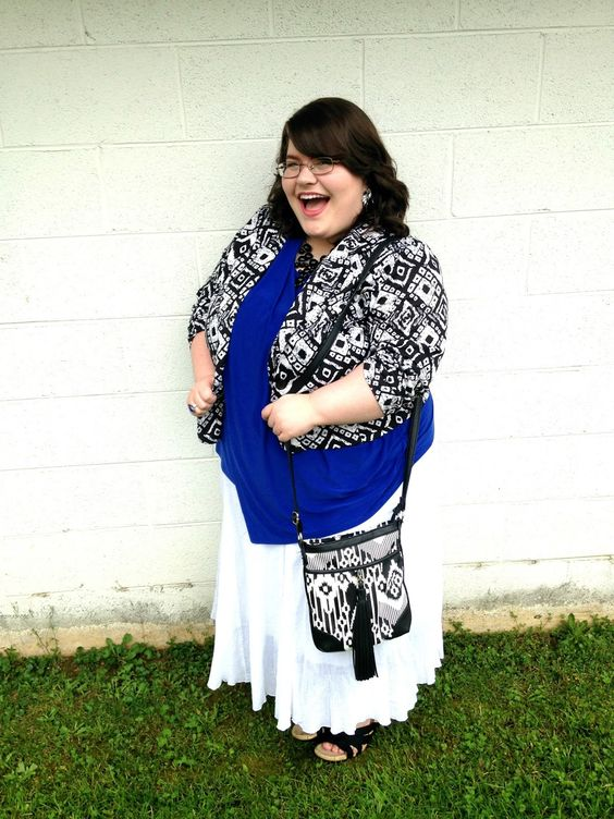 Unique Geek: Plus Size OOTD: He Is Risen!: