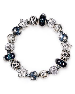 PANDORA Midnight Star Bracelet, Moments Collection | Bloomingdale's