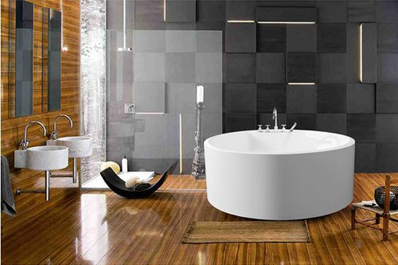awesome Soaking Tub Design Ideas @ Makeover.House - Transform Your Living Space