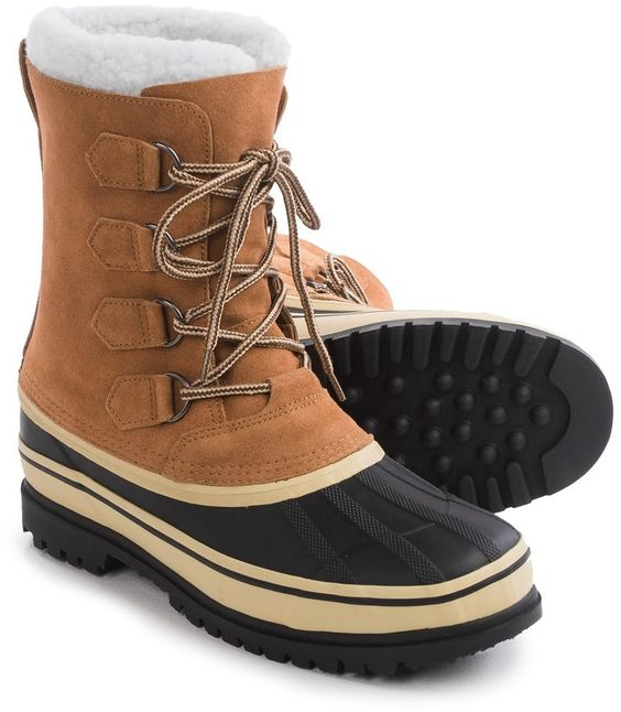 Telluride Suede Pac Boots - Waterproof, Insulated (For Men ...