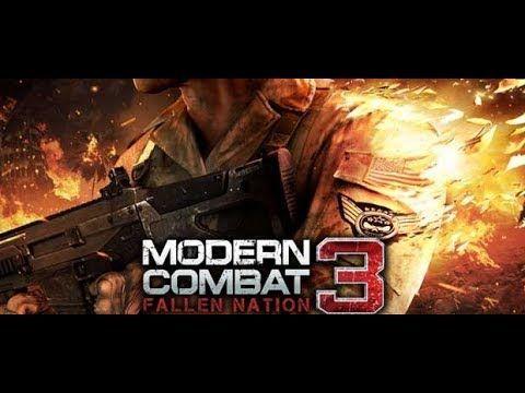 Modern Combat 3 Fallen Nation Download Apk Freegamebox Youtube Combat Gameloft National