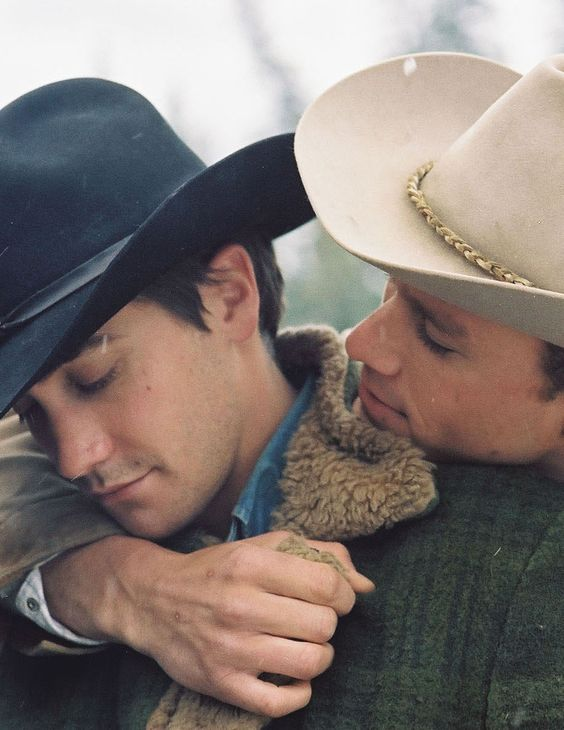 """Jake Gylenhall and Heath Ledger in Brokeback Mountain - the movie that proved a """"gay"""" movie could be a masterpiece"""