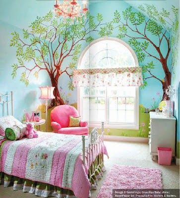 Ideas para la decoracion en dormitorios infantiles for Decoracion hogares infantiles
