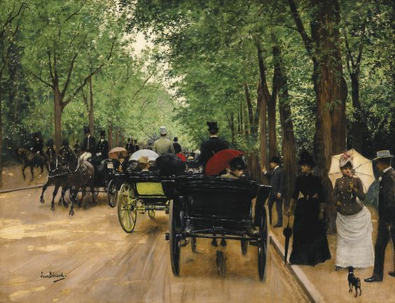 béraud, jean bois de boulogn | carriage scenes | sotheby's n09499lot8z5jzen: