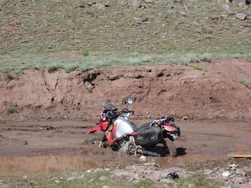 My failed water..mud..crossing along the continental divide