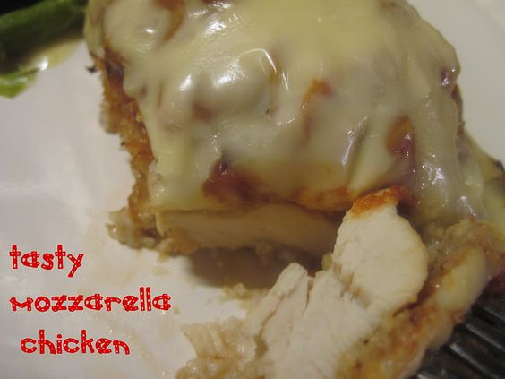 Tasty Mozzarella Chicken