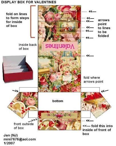 mini printable for Valentine cards