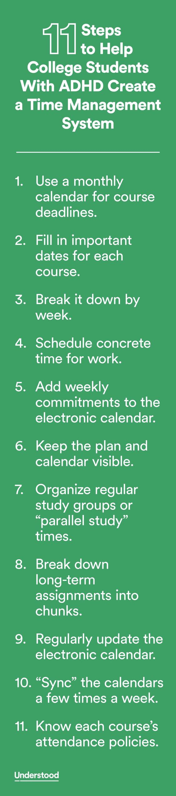 how to create a time management system