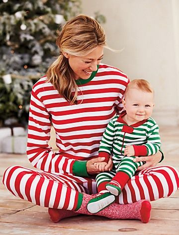 Matching Family Long Johns Hanna Anderson Holiday
