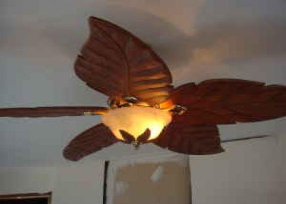 Leaf Fan With Light