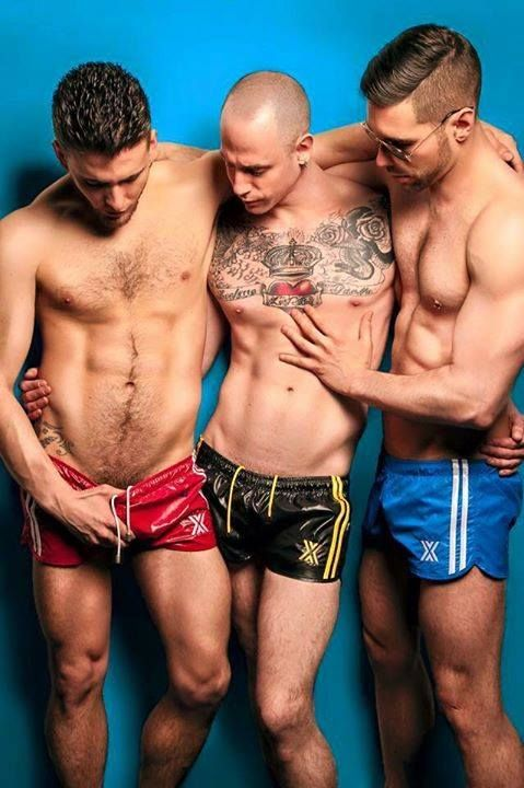 Men bulging bulges shorts voyeur bears