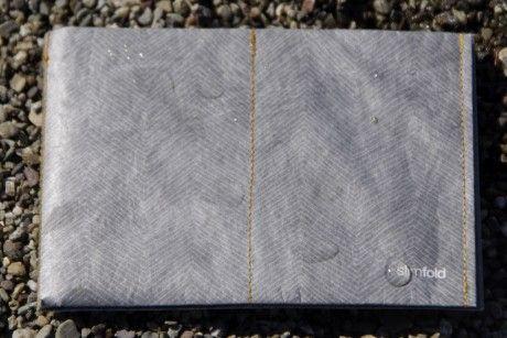 Slimfold herringbone wallet ($20)