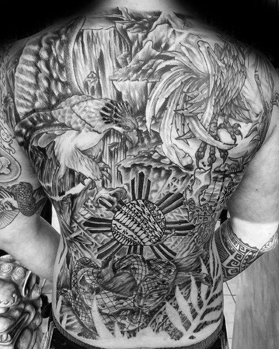 50 Filipino Sun Tattoo Designs For Men Tribal Ink Ideas Sun