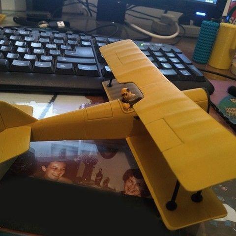 Plane Icarus Lupin 3d Druck Und Drucken