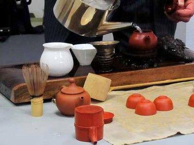 Préparation et dégustation de thés