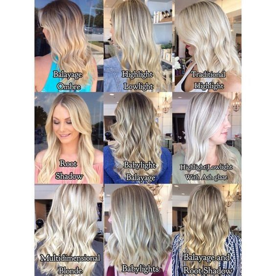 Different Styles Of Blonde Hair Techniques Hairstyles Blondehair Haircolor Hair Color Techniques Hair Techniques Hair Color