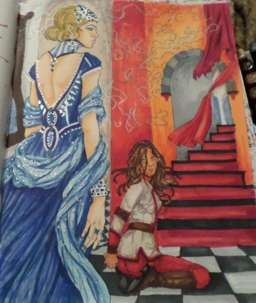 Red Queen Coloring Book Beautiful Red Queen Coloring Book Red Queen Red Queen Victoria Aveyard Color