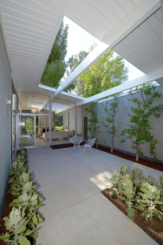 Eichler House Courtyards And The Jetsons On Pinterest