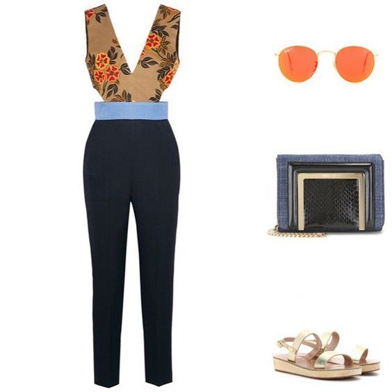 Cocktails before Dark. Items by @msgm_official @rayban @jimmychoo @ancientgreeksandals #fashion #fashionista #fashionvictim #fashionaddict #fashioninspiration #outfitideas #trends #outfitoftheday #whattowear #exotic #bohemian #elegant #sexy #floral #style #travel #dontlookback #ss16 #sunset