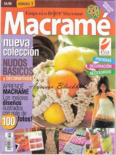 Empezá a Tejer Macramé 1 - Aymara Lorena Blackhall - Picasa Web Album