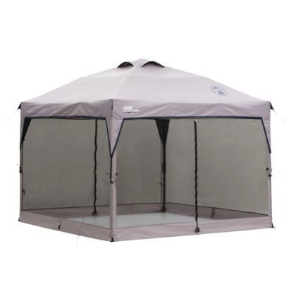 The Coleman instant canopy screen wall can be used in campsites, picnics or any outdoor area to create a