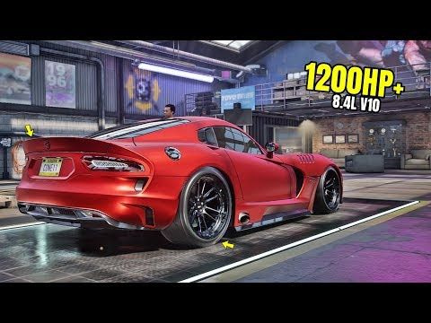 Need For Speed Heat Gameplay 1200hp Srt Viper Gts Customization