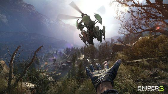 Sniper Ghost Warrior 3 - granada
