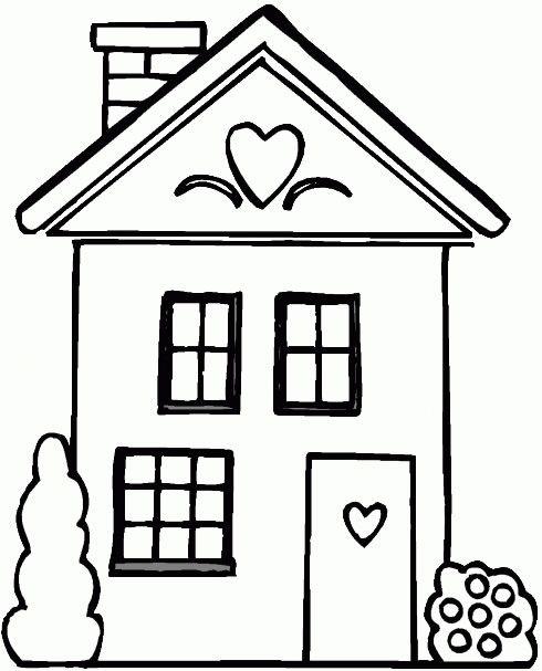 house- for house invitation insert