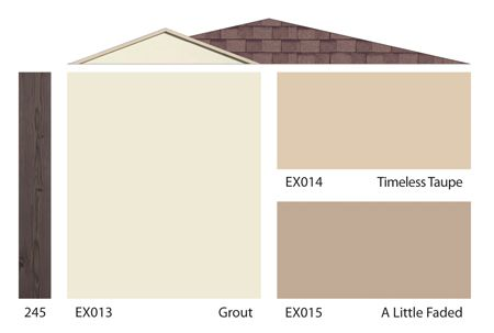 245 Ex013 Grout Ex014 Timeless Taupe Ex015 A Little