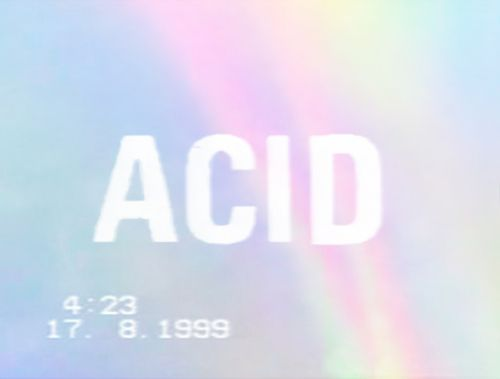 #pop #acid #design #typography