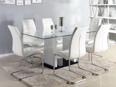 Modelos de pedestales de madera para mesa de vidrio - Mesa madera y vidrio ...