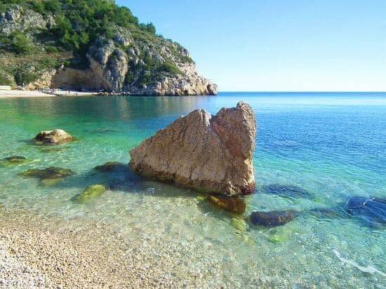 Cala Granadella Jávea Alicante Playas España Turismo Maravillas Del Mundo