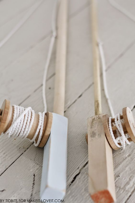 Diy toy fishing pole that reels in and magnetic fabric for Wooden fishing pole