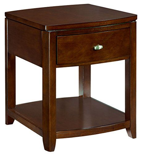 Hammary End Table With One Drawer End Tables American Home