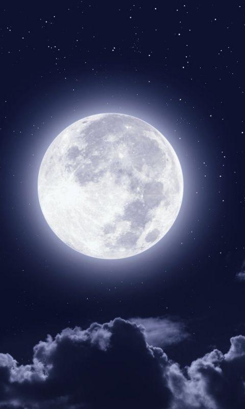 Full Moon Clouds Night Sky Wallpaper Full Moon Pictures Night Sky Moon Full Moon Photography