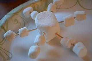 snowen snowflakes marshmallow snowflakes snowflake craft school ...