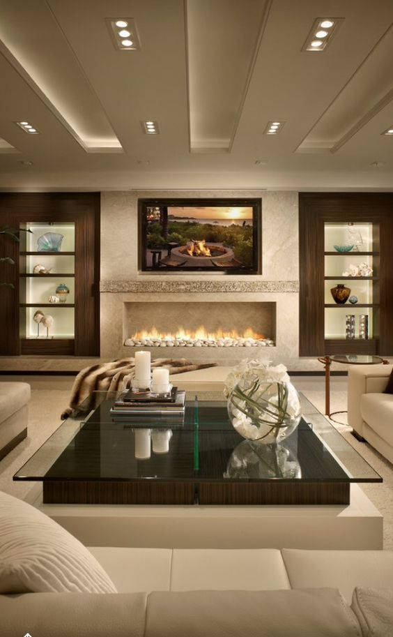 80 Ideas For Contemporary Living Room Designs | Houzz, Luxury and ...