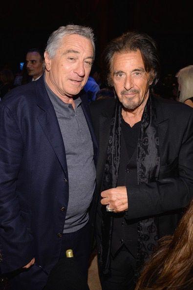 De Niro means business...