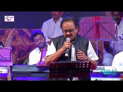 S P B Sings Nenjukulle Innarunnu Sonnal Puriyuma From Ponnumani Abbas Cultural Kalai Vizha 2017 Youtube Singing Abba Mp3 Song