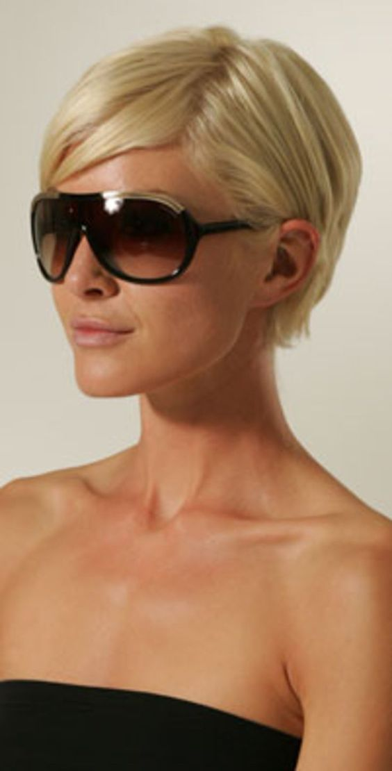 Love Her Short Hair Style Kurzhaarfrisur Pinterest Tom Ford Bobs Und Stil