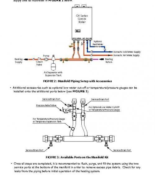 Navien Tankless Combi Boiler Doityourself Com Community Forums Boiler Boiler Installation Irrigation Valve