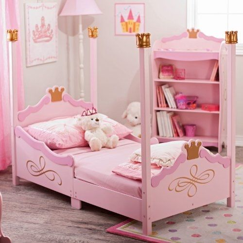 Kidkraft Princess Toddler Bed By Babiesnmom Princess Toddler Bed Princess Room Decor Toddler Beds