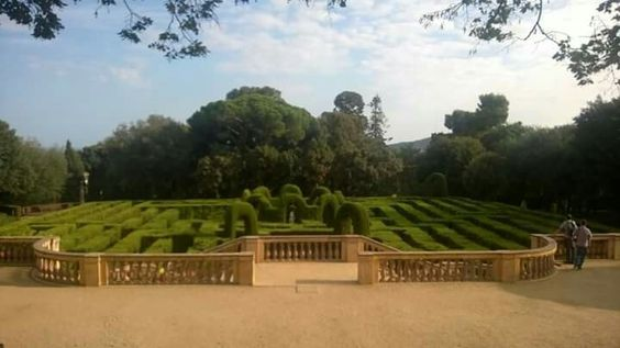 Laberinto de horta. Barcelona.