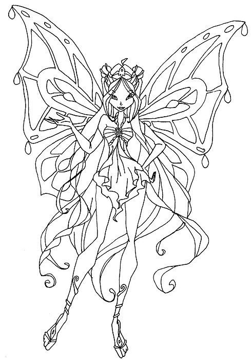 30 Coloriage Winx Bloom Nouveau Worksheets Gallery