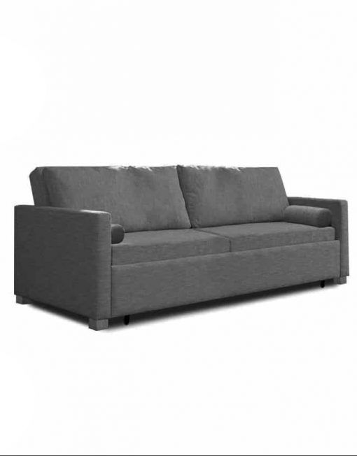 Harmony Sofa Bed Queen Eco Leather In 2020 Foam Sofa Bed Modern Sofa Bed King Sofa Bed
